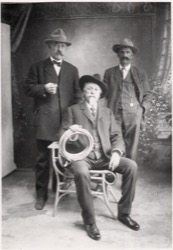 William F. Cody, George W. T. Beck, and Henry J. Fulton