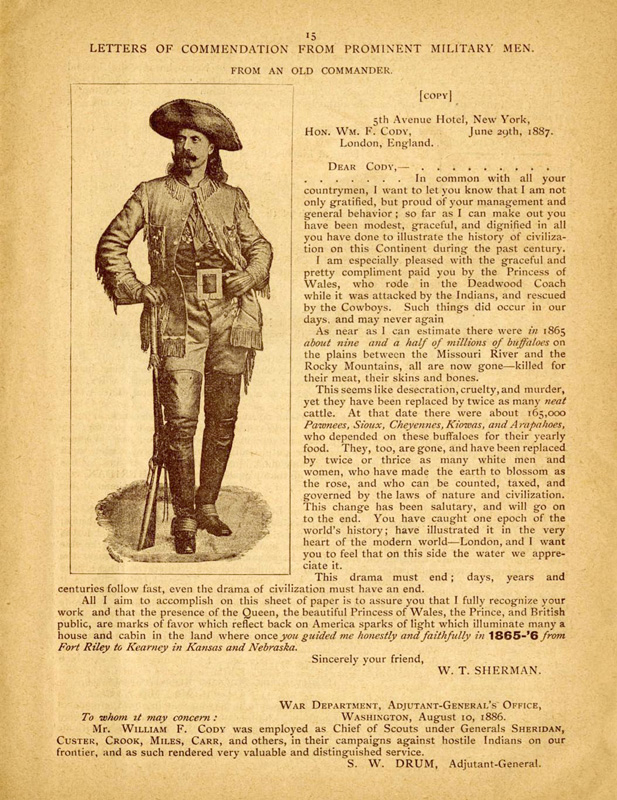 William F Cody Archive Documenting The Life And Times Of Buffalo Bill